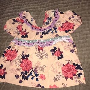 Matilda Jane 12-18 month tunic top.